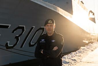 Fregattene blir liggende til kai ut januar