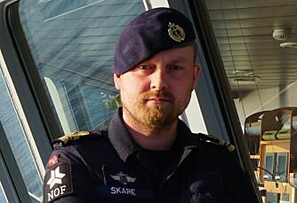 Espen Skare er arbeidsplasstillitsvalgt i NOF avdeling Kystvakten.