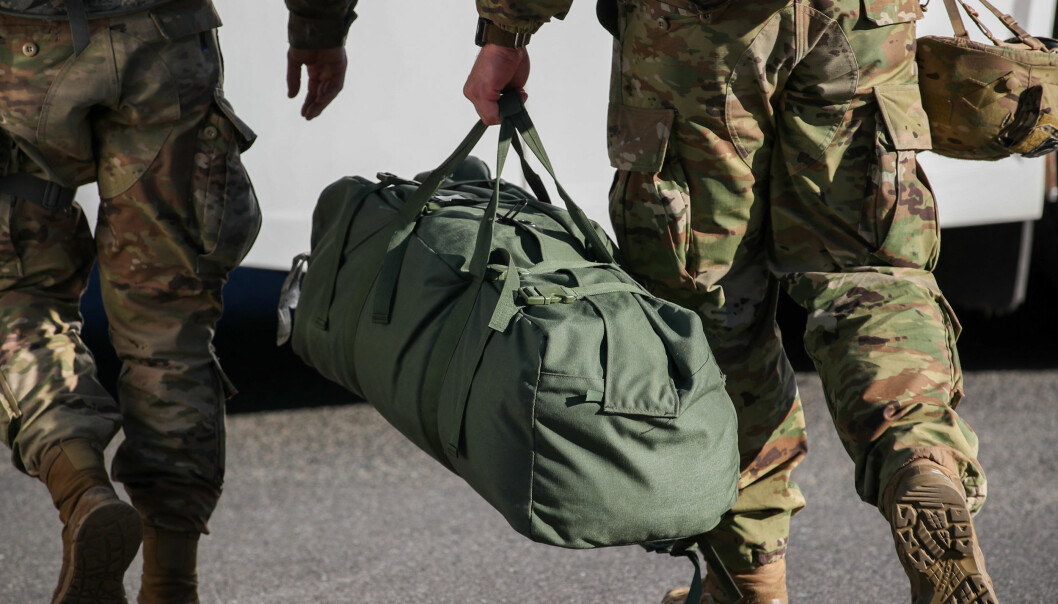 25.000 soldater fra den amerikanske nasjonalgarden er på plass i Washington i forbindelse med innsettelsen av Joe Biden.