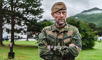 Sjefen for 2. bataljon bruker løpeturer for «tømme hodet» og deler helst en pose FR på tur med barna