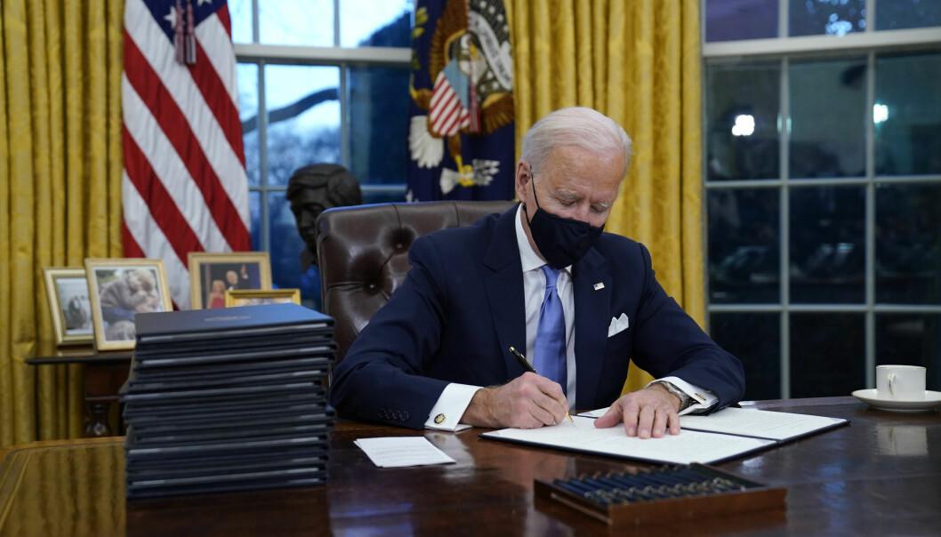 NEDRUSTNING: President Joe Biden vil i likhet med Russland forlenge Ny Start-avtalen om atomvåpen som utløper 5. februar, ifølge Washington Post.