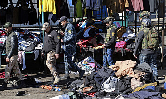 Bagdad rystet av verste terror på tre år