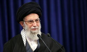 Irans øverste leder truer Trump med hevn