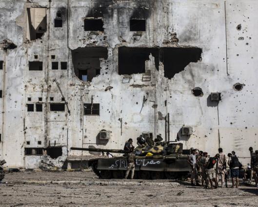 Utenlandske styrker ignorerer frist for uttrekning i Libya
