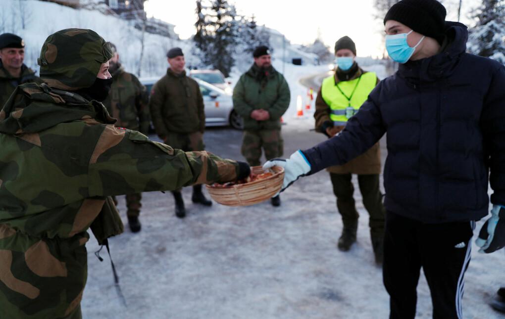 - Lokalbefolkningen gjorde også et utrolig positivt inntrykk, forteller Marte Boye Haakonsen til Soldatnytt.