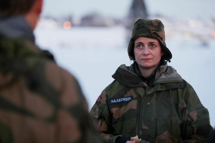 For Marte Boye Haakonsen var samtalene med stressmestringsteamet nødvendige.