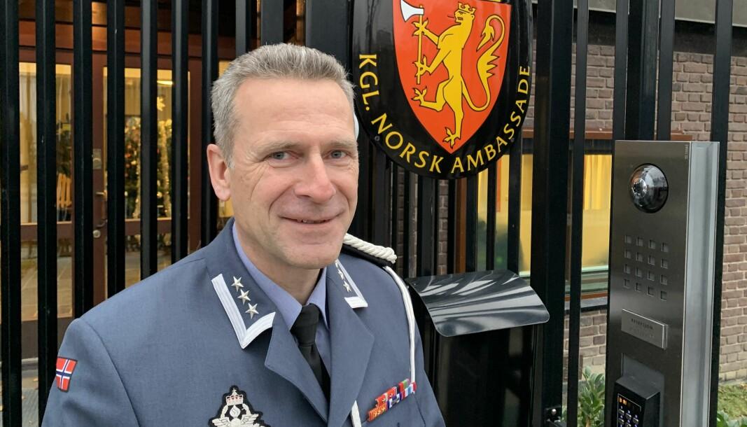 Oberst Bjørn Stai tilhører en stadig mer eksklusiv gruppe. I slutten av 2021 vil han ha kun elleve kolleger rundt om i verden som kan kalle seg Norges forsvarsattaché.