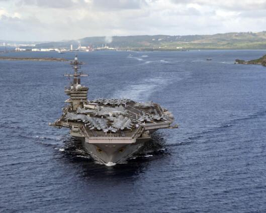 Amerikansk marineøvelse i Sør-Kinahavet