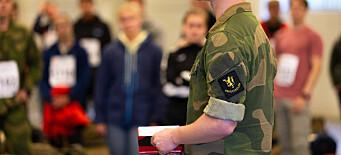 812 søkte ny lederutdanning i Forsvaret - bare 40 kommer inn
