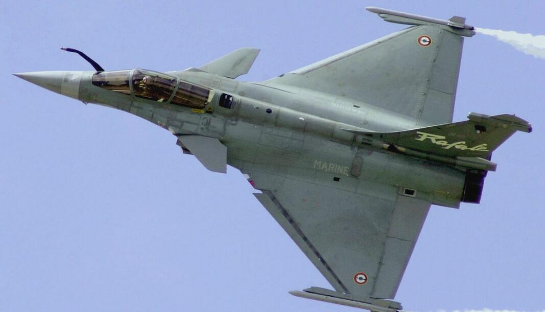 Hellas har kjøpt 18 jagerfly av typen Dassault Rafale av Frankrike.