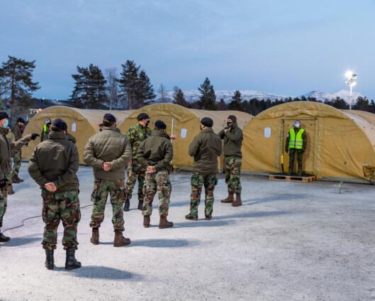 Åtte koronatester fra britiske soldater er sjekket - ingen viser mutert virus