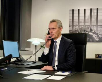 Nato-sjef Jens Stoltenberg har snakket med Joe Biden for første gang siden innsettelsen