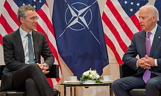 Nato-landenes forsvarsutgifter opp nesten 20 prosent siden 2014