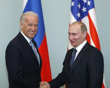 Russland anklager Biden for «svært aggressiv retorikk»