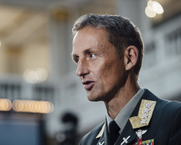 Forsvarssjefen ønsker mer dialog med Russland