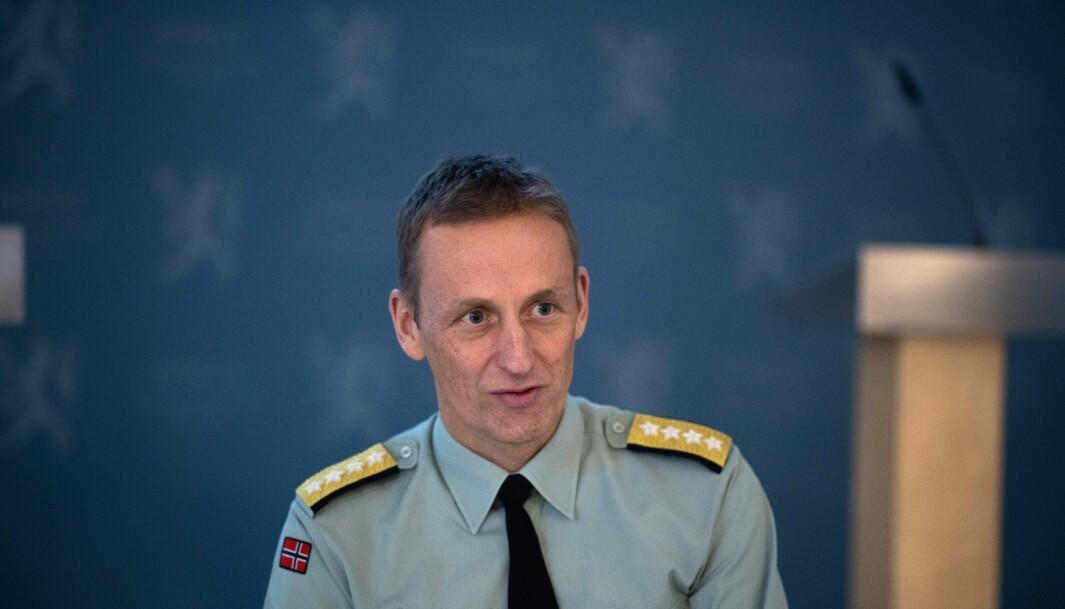 MØTTE KOLLEGER: Forsvarssjef general Eirik Kristoffersen møtte forsvarssjefer fra hele Nato.