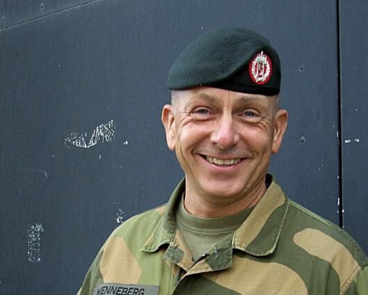 Rune Wenneberg er ny sjefssersjant for Forsvaret
