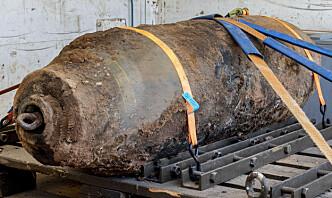 Bomber fra andre verdenskrig fjernet i tysk by