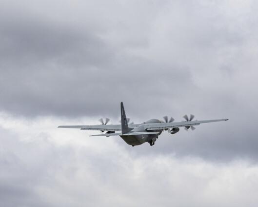 Hercules-flyet er ankommet Jan Mayen