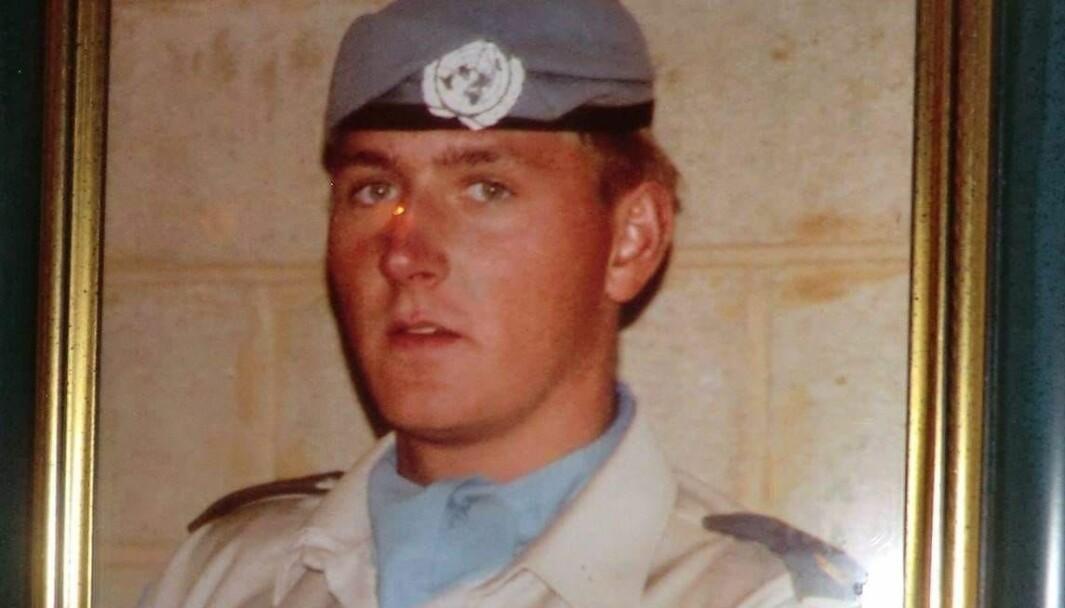 Kjell Thon var to kontingenter i Libanon.