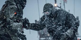Vinterøvelsen ble avlyst. Det hindrer ikke utenlandske soldater i å drive vintertrening