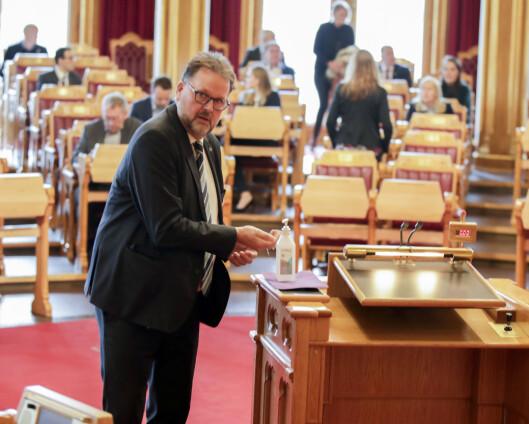 Utvalg mener norske krigsoperasjoner bør forankres i Stortinget