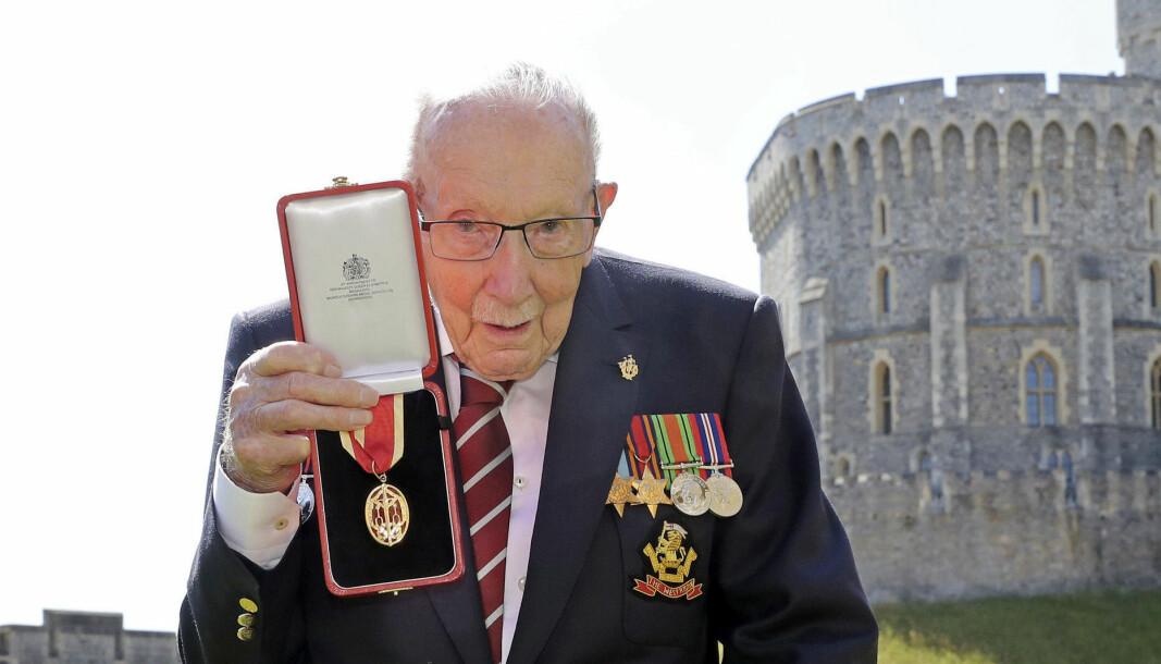 Captain Sir Tom Moore.