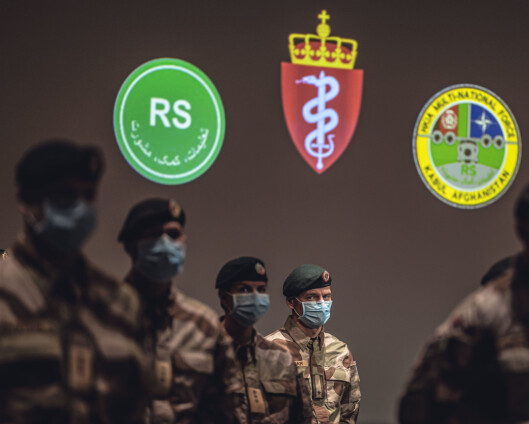 Fsan-soldater i Kabul tilbake på messemat etter to uker med feltrasjon