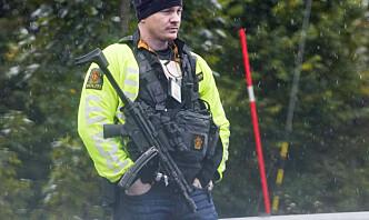 Stor økning i væpnede oppdrag for politiet