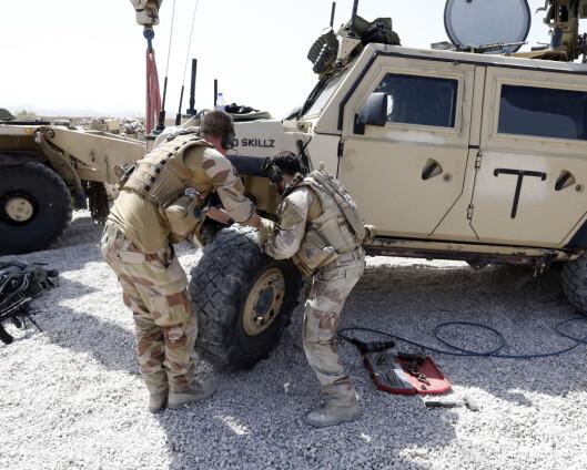 Norsk soldat koronasmittet i Afghanistan