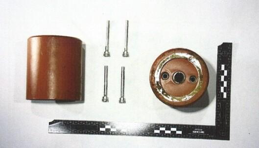 Ladning til anti-personellmine med tenning.