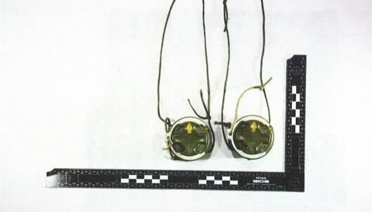Anti-personellminer fra beslaget i Fredrikstad.