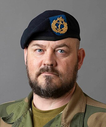 Orlogskaptein Jørn Hammerbeck ved Forsvarets operative hovedkvarter (FOH).