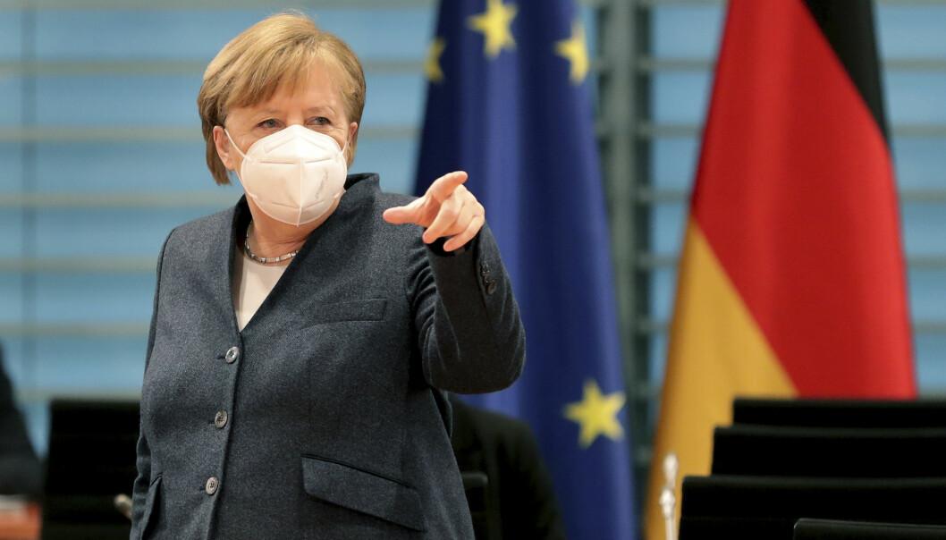 Tysklands regjering, med Angela Merkel i spissen, øker forsvarsbudsjettet for 2021.