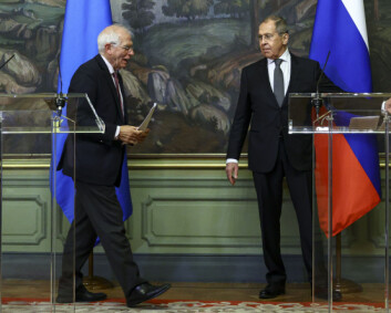 Borrell åpner for nye EU-sanksjoner mot Russland