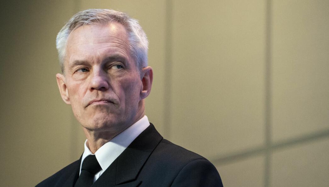Stormaktsrivaliseringen fortsetter, og russisk militær aktivitet i våre nærområder øker, skriver Aslak Bonde. Her ser vi sjef E-tjenesten Nils Andreas Stensønes .