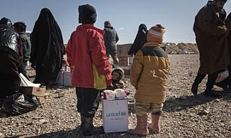 FN-eksperter: Utlendinger må hentes fra Al-Hol-leiren