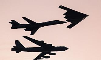 Bombeflyet B-1B Lancer fløy over Superbowl - nå skal flytypen til Ørland