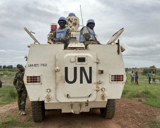 Tre norske politifolk i Sør-Sudan har testet positivt på korona