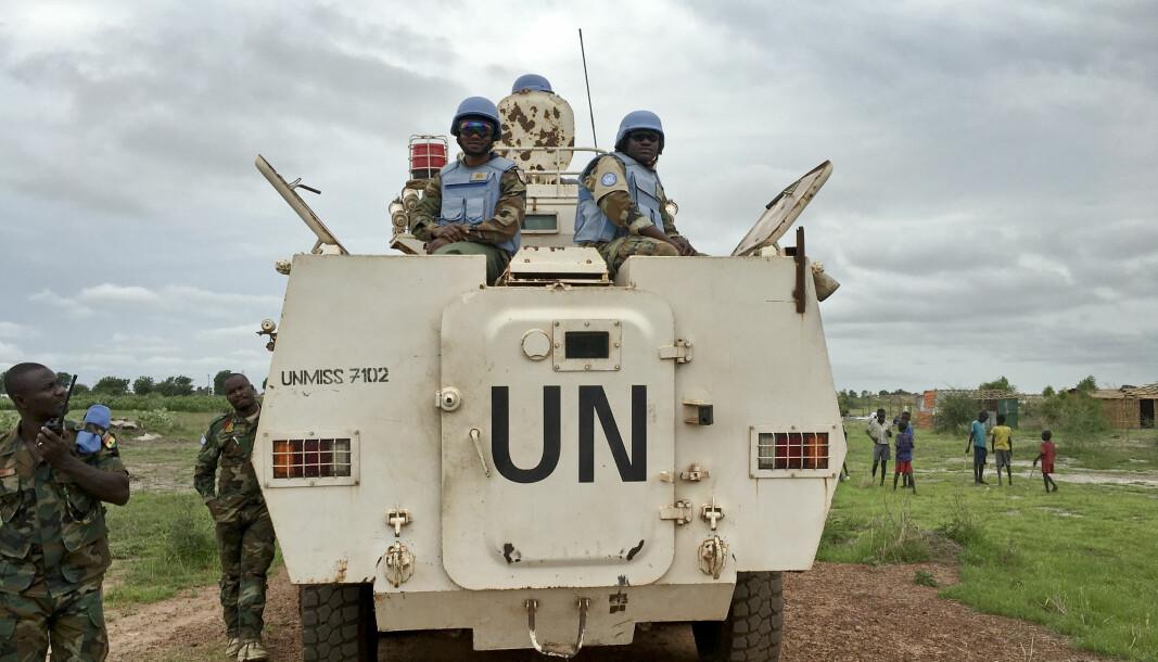 FN-MISJON: Norge har sendt 18 norske politirådgivere til Sør-Sudan.