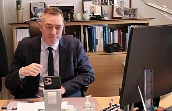USAs nye forsvarsminister ringte Bakke-Jensen