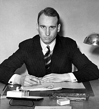 Jens Christian Hauge ble forsvarsminister etter 2. verdenskrig.