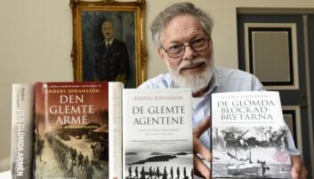 Forfatter Anders Johansson har skrevet flere bøker om 2. verdenskrig.
