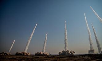 Iran holder stor militærøvelse nær grensa til Irak