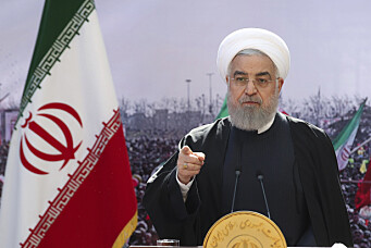 Irans president er skuffet over Bidens atompolitikk