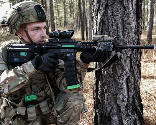 US Army prøver ut «elektroniske skudd» fra Norge