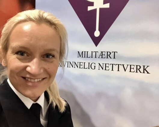 Nina Grimeland er ny leder i Militært kvinnelig nettverk