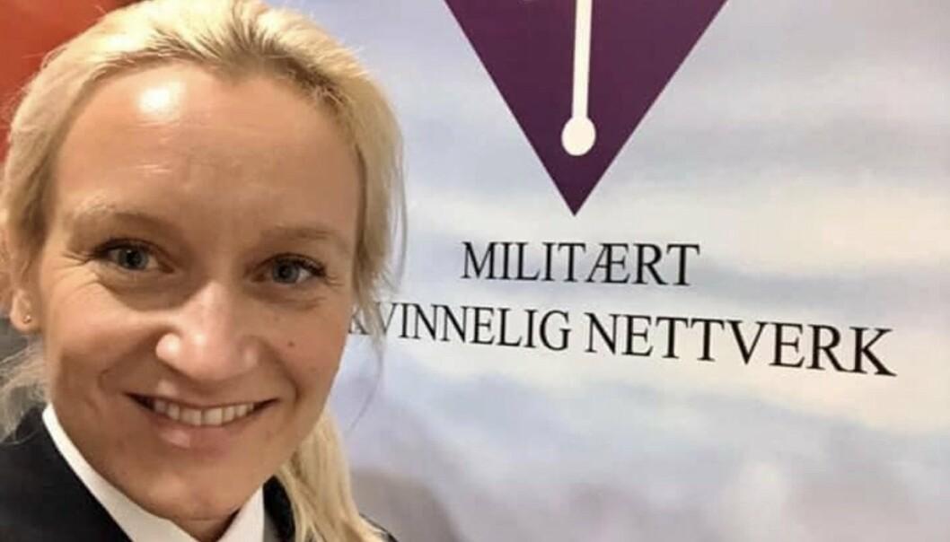 Orlogskaptein Nina Grimeland er ny leder i Militært kvinnelig nettverk.