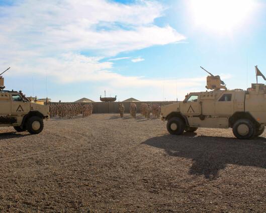 2. bataljon har tatt over oppdraget i Irak