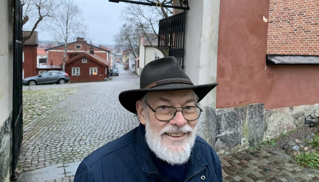 Anders Johansson har skrevet boka «Mysteriet Malcolm Munthe».
